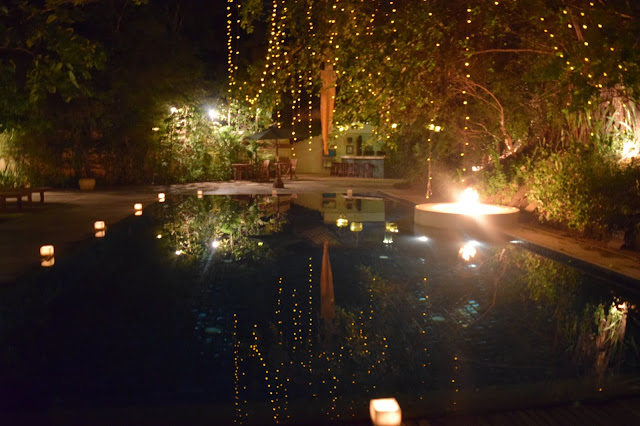 Heritage Suites Hotel Siem Reap Pool Night