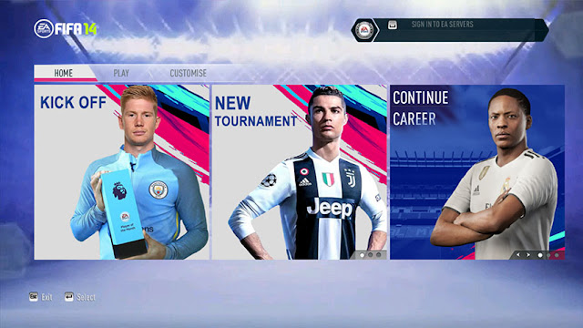 FIFA 14 Next Season Patch 2019 Update V4 0 AIO - Micano4u | PES