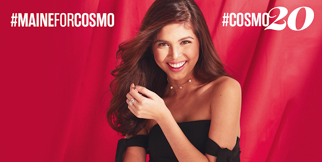 Maine Mendoza Cosmopolitan March 2017 Cover Girl