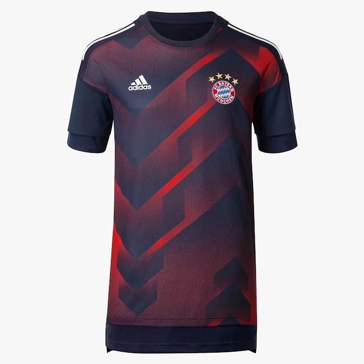 Bayern+Munich+17-18+Pre-Match+Shirt+%252