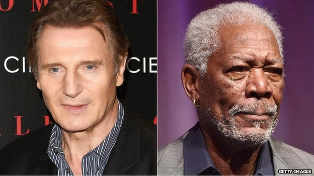 Liam Neeson, Morgan Freeman