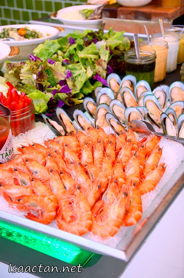 Fresh seafood, to cater for seafood lovers this Ramadhan