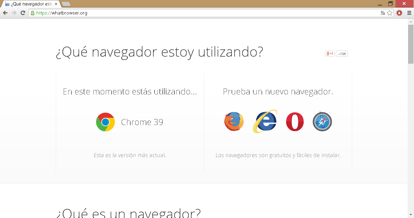 What Browser