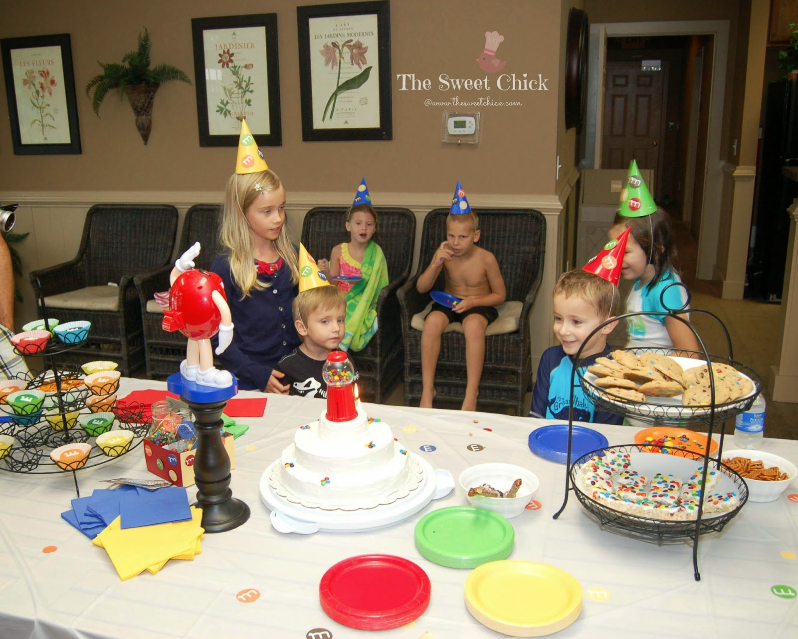 M&M Kids Birthday Party by The Sweet Chick