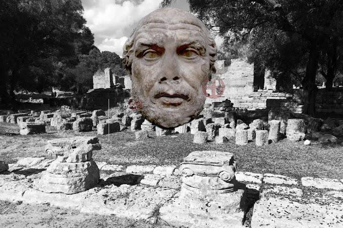 ΦΕΙΔΙΟ  ΕΙΜΙ ... Το εργαστήριο του Φειδία στην Ολυμπία