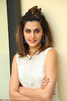 Taapsee Pannu in cream Sleeveless Kurti and Leggings at interview about Anando hma ~  Exclusive Celebrities Galleries 033.JPG