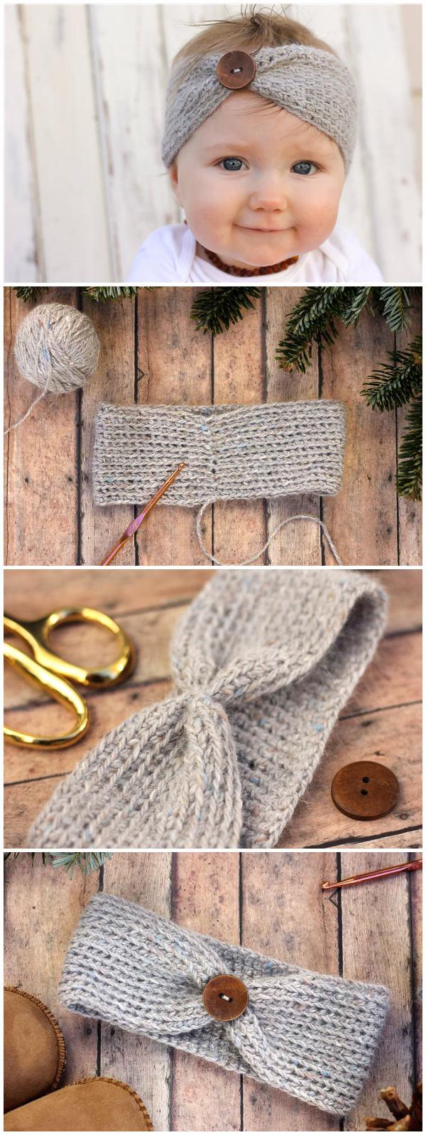 aspen Socialite Free Crochet Headband Pattern