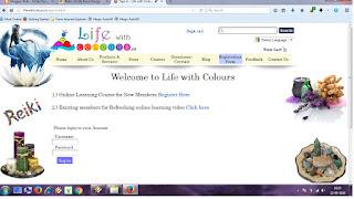 online reiki e-course form