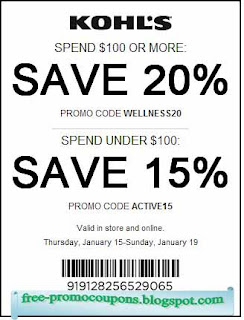 Free Printable Kohls Coupons