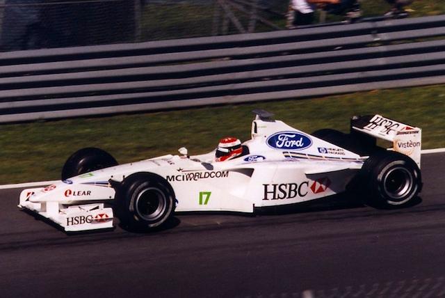 Gambar Mobil Balap F1 Stewart 01