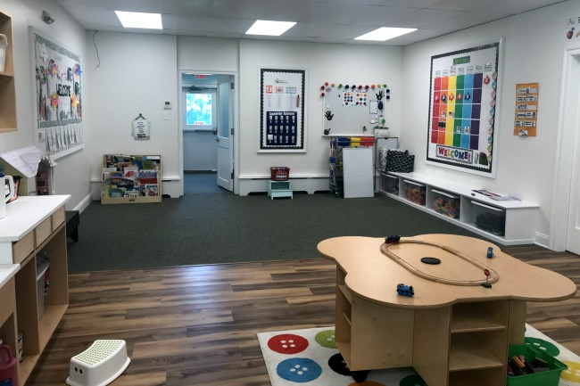Renovations on our Pre-K Classroom