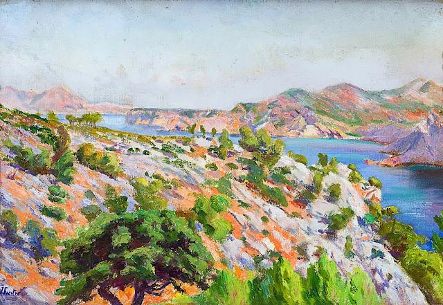 Juan Fuster Bonnin, Mallorca en Pintura, Vista de Andrat