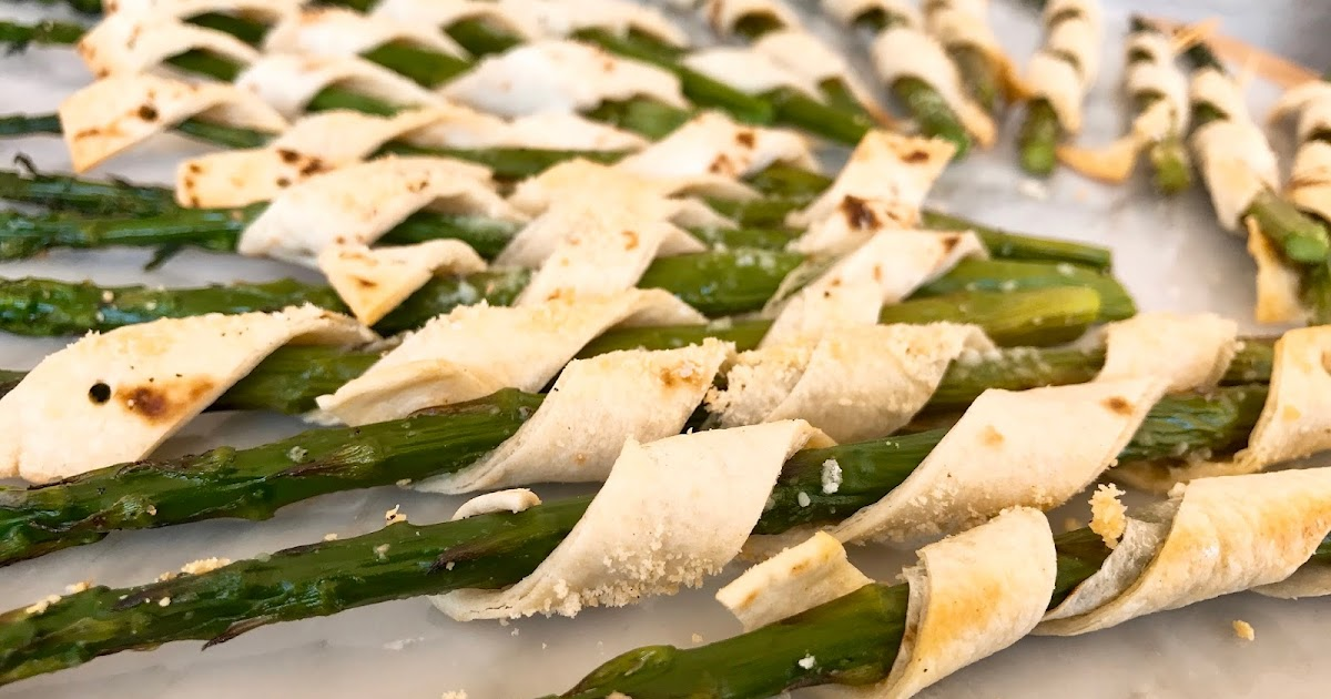 Robin Miller Cooks : Tortilla Wrapped Asparagus with Parmesan