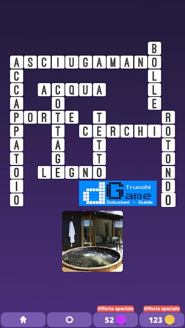 Soluzioni One Clue Crossword livello 20 schemi 7 (Cruciverba illustrato)  | Parole e foto