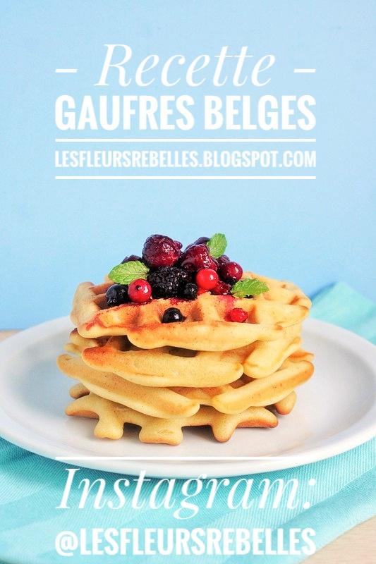 Gaufres belges recette facile et traditionnelle