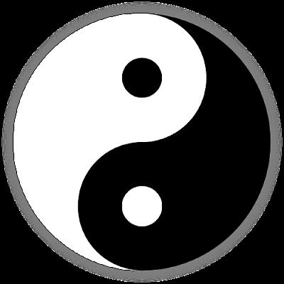 The Tai Chi diagram - Tàijítú 无极 - The interplay of Yin & Yang