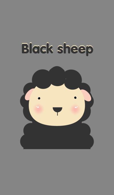 Simple black sheep
