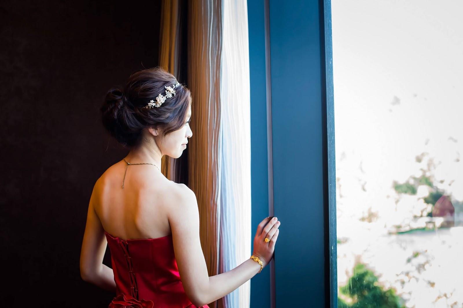 台中新秘, 婚宴造型, 婚禮現場, 婚禮造型, 新娘秘書, 新秘阿桂Dabby, 新秘推薦, 日月潭雲品酒店