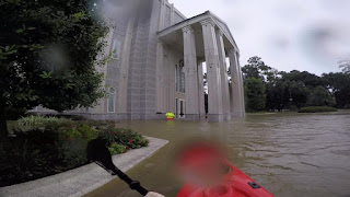 templo lds inundado