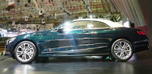 Mercedes S500 Cabriolet 2018 được thiết kế tổng thể khí động học, thể thao, mạnh mẽ