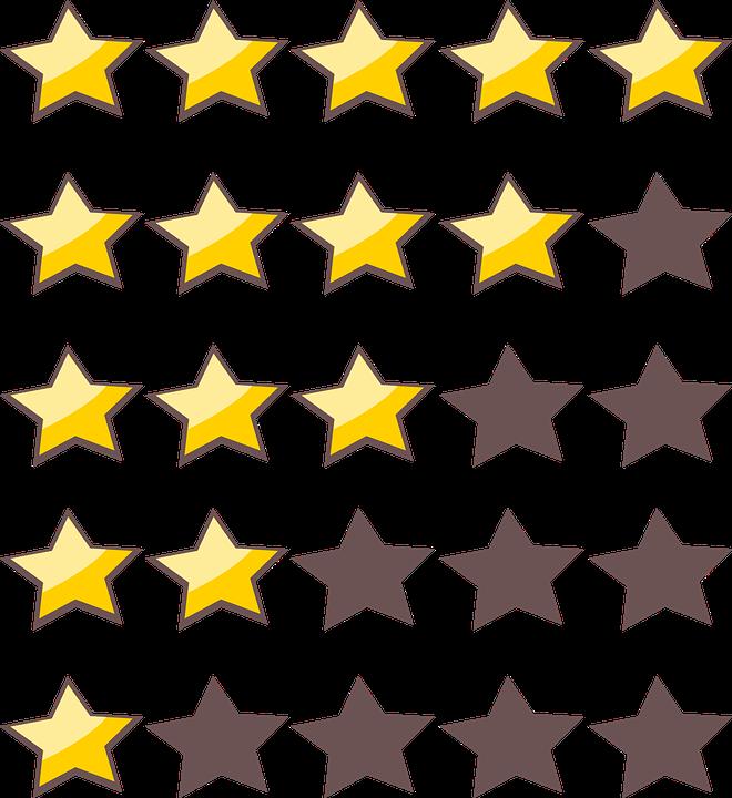 render estrellas