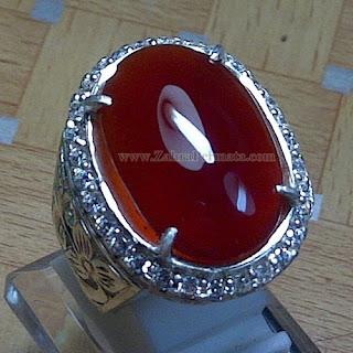 Cincin Batu Red Baron Pacitan - ZP 844