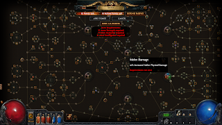 Skill tree from Path of Exile