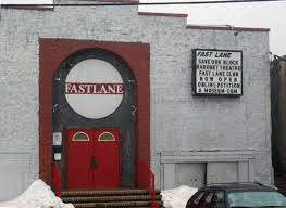 The Fast Lane rock club in Asbury Park, New Jersey