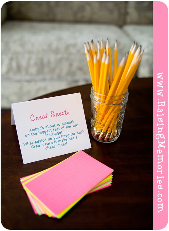 Bridal Shower Games for High School Theme