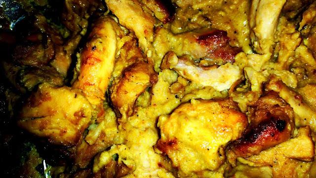 Pollo horneadas
