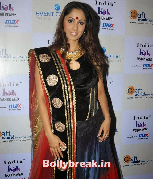 Sangeeta Ghosh, Celebs at India Kids Fashion Week 2014