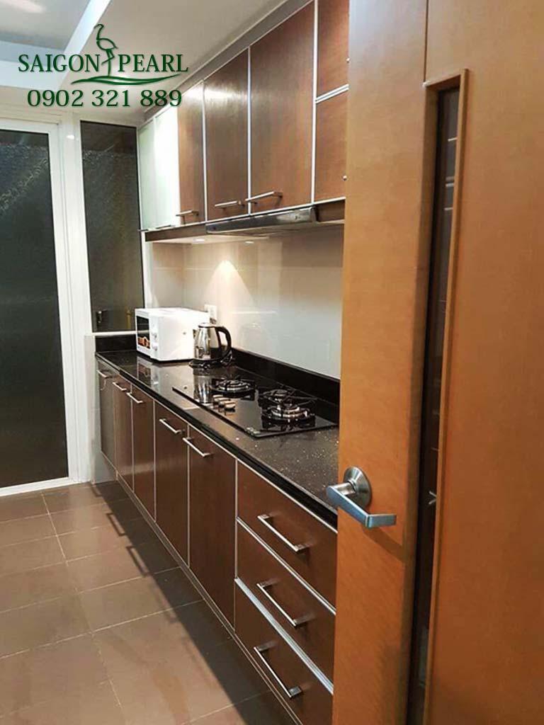 Chung cư Saigon Pearl Ruby 2 cho thuê căn hộ 2PN view cầu SG - hình 2