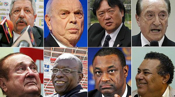 Dirigentes de la FIFA implicados en causa por corrupción