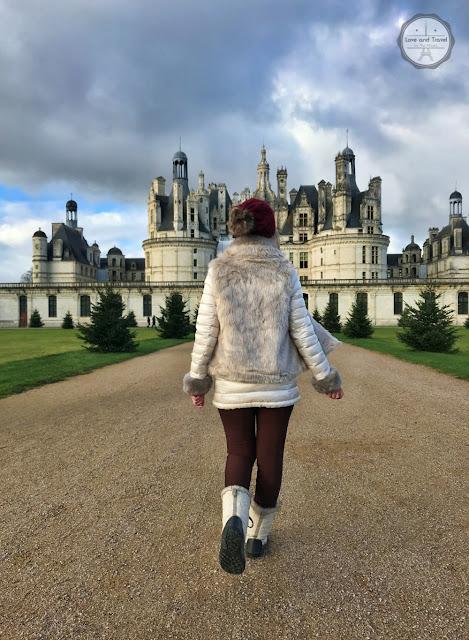 Os Castelo do Vale do Loire na França - Château Chambord