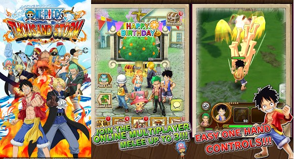 One Piece Thousand Storm MOD Unlimited Money v1.13 Apk for Android Terbaru