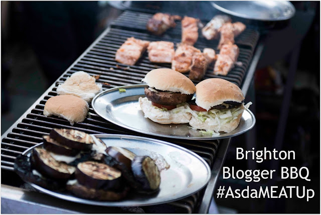 Asda Brighton Blogger Burger BBQ