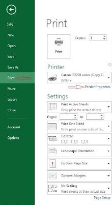 Setting-Printer