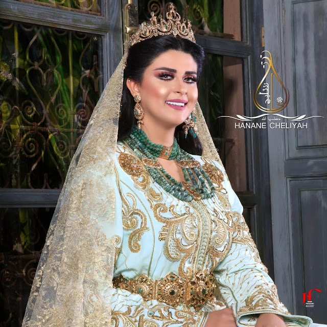 caftan mariage de luxe 2019