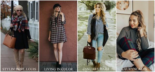 blog link up, link up, flannel