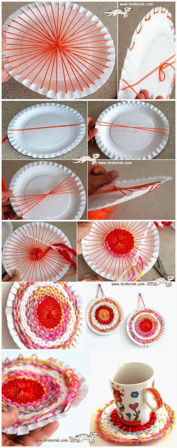 Em rita desastre manualidades con ni os y platos de papel - Platos faciles de hacer ...