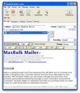 MaxBulk Mailer Pro 8.6.5 Multilingual Full Version