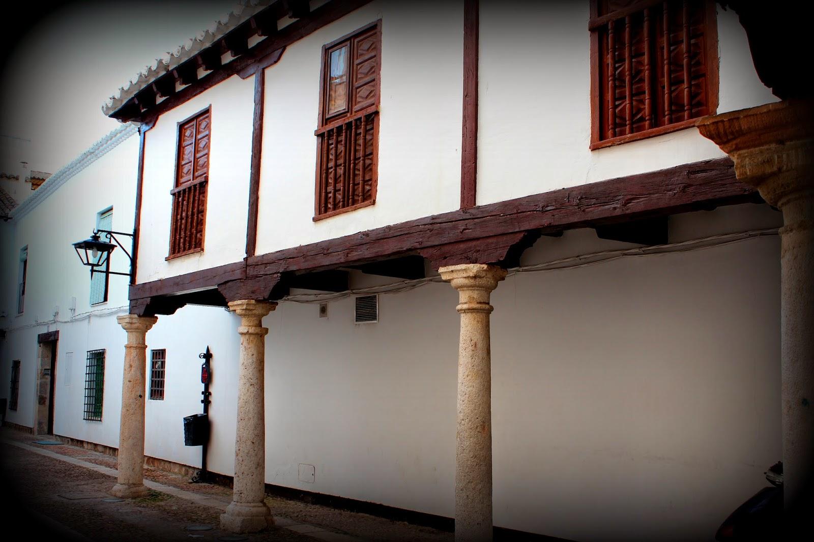 Calles porticadas de Almagro