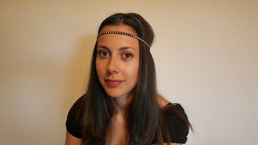 Second Hand Fashion - Online Shop: Headband Tachas Preto
