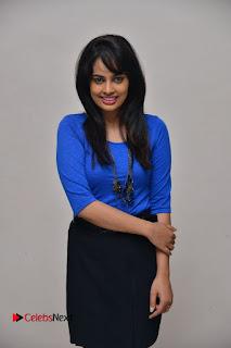 Actress Nandita Swetha Stills in Black Mini Skirt at Ekkadiki Potavu Chinnavada Movie Special Show  0045.JPG