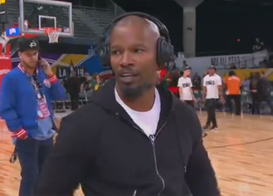 Jamie Foxx ends interview after Katie Holmes question