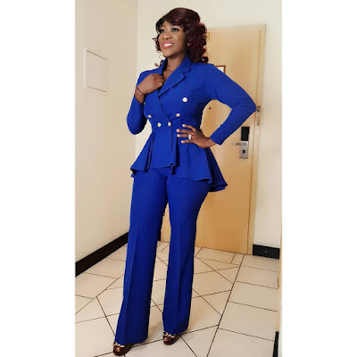 Mercy Johnson fashion and style looks