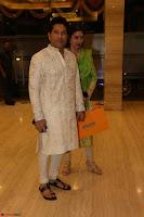 Sachin Tendulkar with his wife at Mata ka Jagrata hosted by Anu Malik 15.JPG