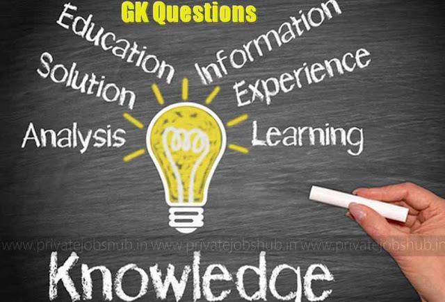 GK Questions 23rd August PJH