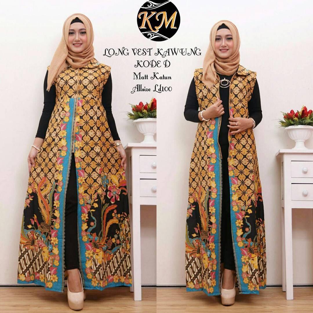 Model Baju Batik Modern Dress: Contoh Baju Batik Wanita Modern Model Dress Batik Terbaru 2018