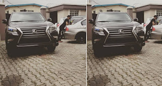 Rapper, Reminisce Splashes Money On New Lexus SUV